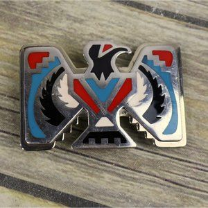 Native American Thunderbird Belt Buckle Phoenix